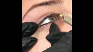 Microblading eyeliner