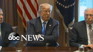 Trump blames Democrats for impasse on immigration reform