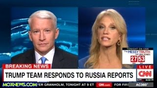 "Kellyanne Conway Lays Into ""FAKE NEWS"" Anderson Cooper!"