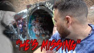 I LOST MY FRIEND IN THE HAUNTED TUNNEL (FAZE RUG TUNNEL) | OmarGoshTV
