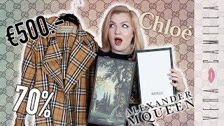 €520 KORTING OP GUCCI DOOR FOUT & LELIJKE BURBERRY JAS   Designer sale shoplog   Vera Camilla