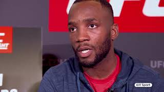 Savage recognises savage! Leon Edwards reacts to Jimi Manuwa