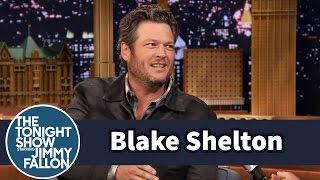 Blake Shelton Teaches Jimmy How to Treat His Truck