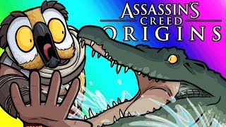 Assassins Creed Origins Funny Moments - Conquering the Seas!