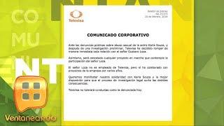 Televisa afirma que el director Gustavo Loza fue quien violentó a Karla Souza  Ventaneando