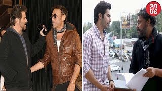 Bollywood's Ram Lakhan Re-Unite At A Party   Varun Thrilled About Working In Shoojit's 'October