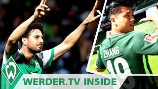 Abschiedsspiel für Claudio Pizarro? Chinese Yuning Zhang im Sturm | WERDER.TV Inside