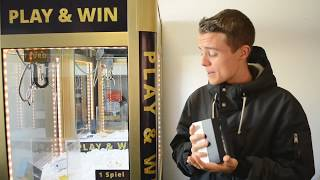 iPHONE 5 📱 WIN Greifautomat Gewinn - Claw Machine (Greifer gegen Harry) THEBIGHARRY