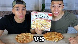 ORIGINAL CHIPS PIZZA vs SELBSTGEMACHTE CHIPS PIZZA !!!   PrankBrosTV