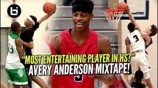 """Most Entertaining Player In High School?"" Avery Anderson Ballislife Mixtape!"