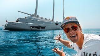THE BILLION DOLLAR YACHT SHOW OF THE MONACO GP!!! | VLOG² 26