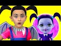 Junior Vampirina and Max Pretend Play wi...