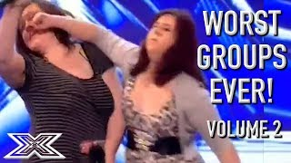The WORST GROUP AUDITIONS On X Factor! Volume 2 | X Factor Global