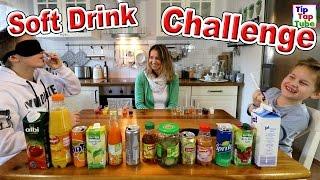 SOFT DRINK CHALLENGE | Ash vs MAx | geronnene Milch als Bestrafung | TipTapTube