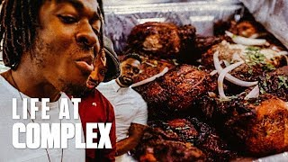 NEW SHOW & TRYING HAITIAN FOOD FOR THE FIRST TIME!   #LIFEATCOMPLEX
