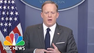 Sean Spicer: 'There Is No Room' For Hate Crimes In Our Country | NBC News
