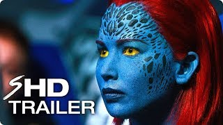 X-MEN: DARK PHOENIX Teaser Trailer #1 (2018) Jennifer Lawrence, Sophie Turner Marvel Concept