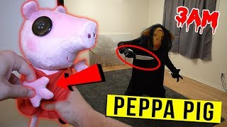 DO NOT MAKE PEPPA PIG VOODOO DOLL AT 3 AM CHALLENGE!! (IT WORKED!!)