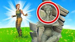 Fortnite I Am Stone Challenge (Very Broken)
