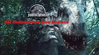 Jurassic World - All Indominus Rex Scenes (HD)