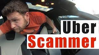 Uber Ride SCAM Gone Wrong    Uber Short Stop Scam Canceled Ride
