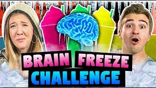 BRAIN FREEZE CHALLENGE! (ft. FBE React Cast)