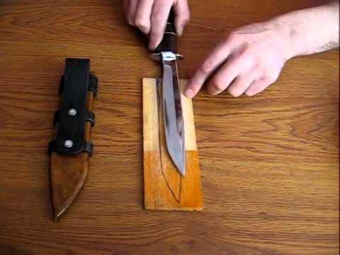 Своими руками сделать ножны для ножа