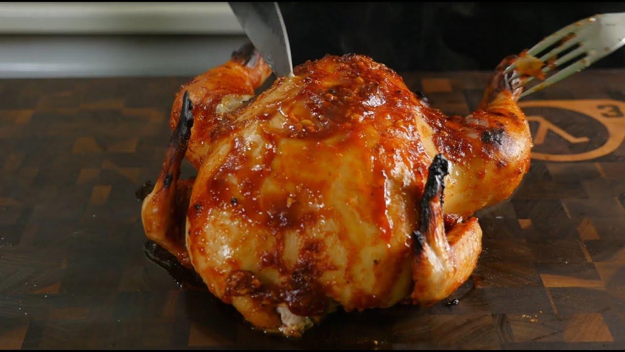 Как сделать чтобы курица была сочной в духовке