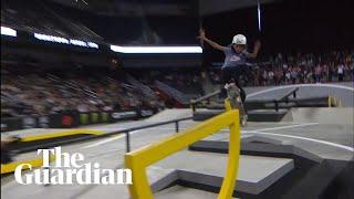 11-year-old Rayssa Leal wins major skateboarding contest