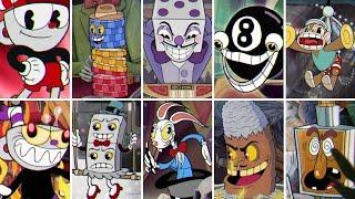 Cuphead - All Casino Bosses