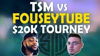 TROLLING BUT WINNING | TSM VS FOUSEYTUBE | $20,000 UMG TOURNAMENT - (Fortnite Battle Royale)