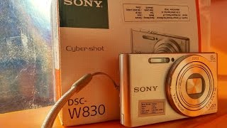 Unboxing camera sony DSC W-830  - masih ada yang pake?