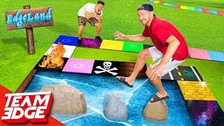 Edgeland Returns!!   Dangerous Giant Board Game!
