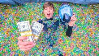 SCUBA DIVING IN ORBEEZ SWIMMING POOL!! (WIN $10,000)