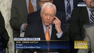 Hatch Makes Case for Including Individual Mandate Repeal in Tax Reform Plan
