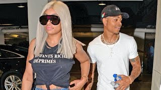 Blac Chyna And Boyfriend Mechie Are All Smiles When Asked If They