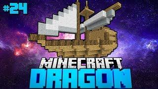 DAS UNFASSBARE SCHIFF der GALAXIE?! - Minecraft Dragon #24 [Deutsch/HD]