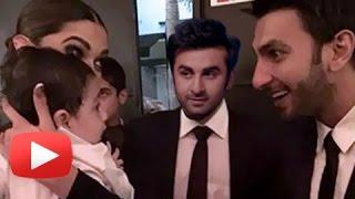 Ranbir Kapoor WANTS Ranveer Singh - Deepika Padukone To Have Babies