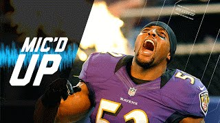 Ray Lewis Last Home Game Mic