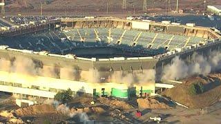 Pontiac Silverdome still standing after demolition attempt
