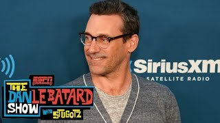 Actor Jon Hamm has been playing in a baseball league for over 10 years | Dan Le Batard Show | ESPN