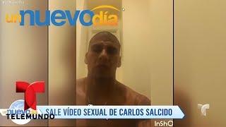 ¡Aquí está el video del escándalo de Carlos Salcido! | Un Nuevo Día | Telemundo