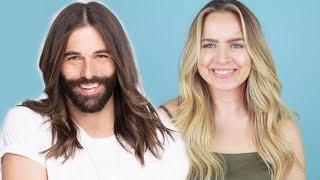 Hairstylist Breaks Down Jonathan Van Ness Gorgeous Waves! - KayleyMelissa