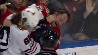 Gotta See It: Kane, Jokinen drop the gloves... kind of