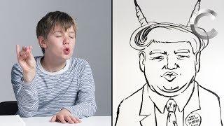 Talbott Describes Trump to an Illustrator