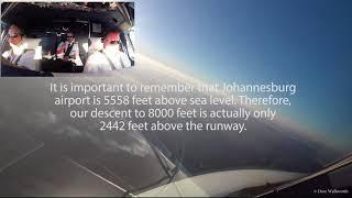 British Airways: Landing in Johannesburg- A Pilot