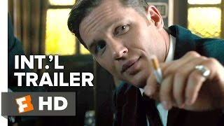 Legend Official International Trailer #1 (2015) - Tom Hardy, Emily Browning Movie HD