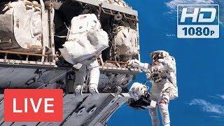 WATCH LIVE: Spacewalk outside the International Space Station # EVA @05:30am EST