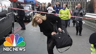 Eyewitnesses Describe Chaos During London Attack | NBC News