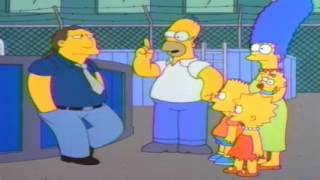 The Simpsons get a pool